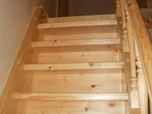 lesena stopnišča